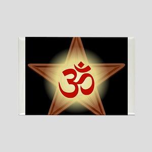 Hindu Barnstar Rectangle Magnet