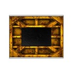 Rusty Shipping Container - yellow Picture Frame