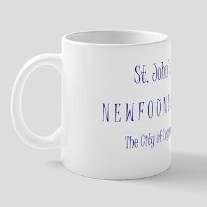 St John's, NL Mug