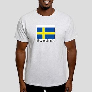 Sweden Ash Grey T-Shirt