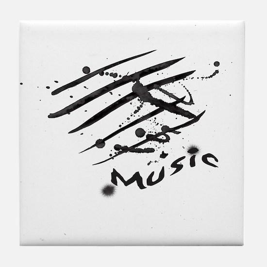 Music Tile Coaster
