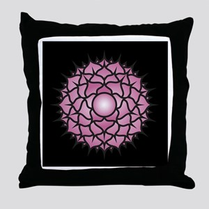 Sahasrara Chakra Throw Pillow