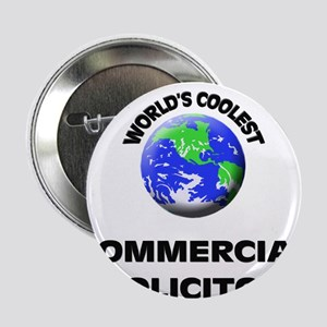 """World's Coolest Commercial Solicitor 2.25"""" Button"""