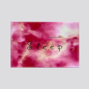 Dream Sleep Rectangle Magnet
