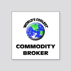 World's Coolest Commodity Broker Sticker