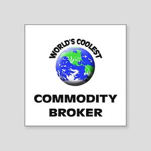 World's Coolest Commodity Broker Sticker