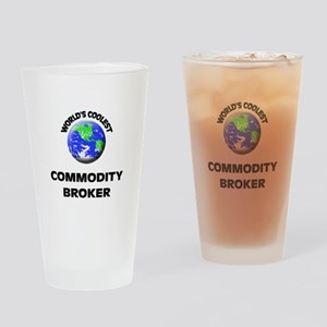 World's Coolest Commodity Broker Drinking Glass