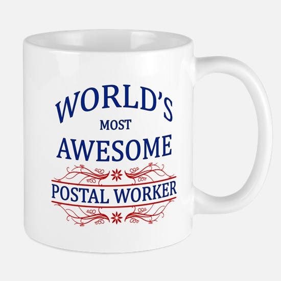 World's Most Awesome Postal Worker Mug