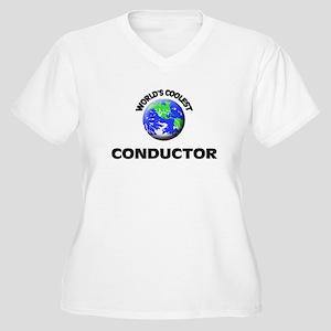 World's Coolest Conductor Plus Size T-Shirt