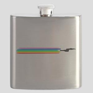 Rainbow USS Hornet Flask