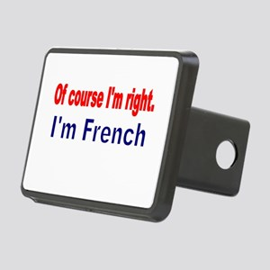 Of course Im right Hitch Cover