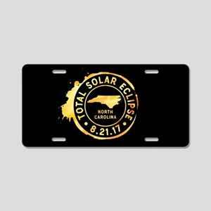 Eclipse N. Carolina Aluminum License Plate