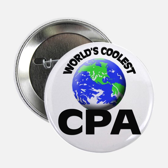 "World's Coolest Cpa 2.25"" Button"