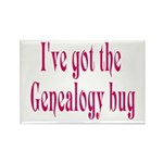 Genealogy Rectangle Magnet (100 pack)