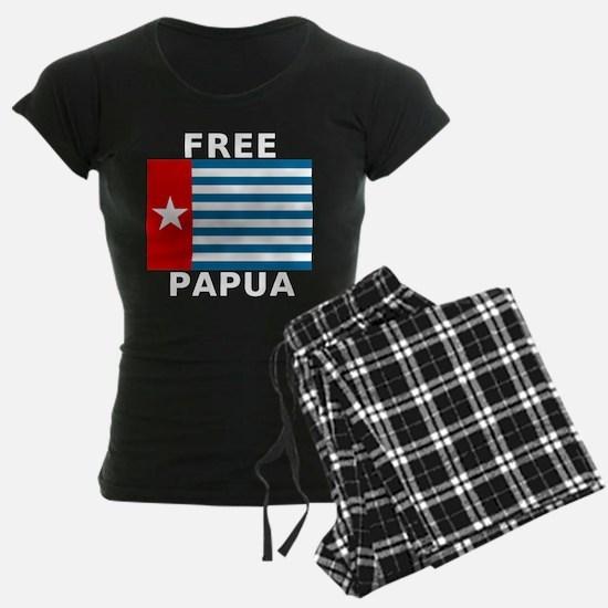 Pree Papua Flag Pajamas