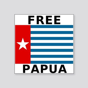 Free Papua Flag Sticker