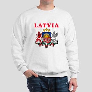 Latvia Coat Of Arms Designs Sweatshirt