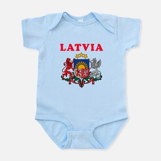 Latvia Coat Of Arms Designs Infant Bodysuit