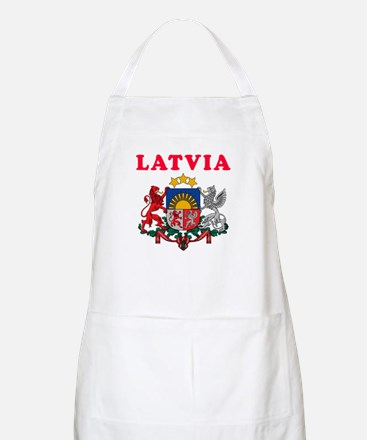 Latvia Coat Of Arms Designs Apron