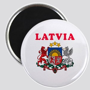 Latvia Coat Of Arms Designs Magnet