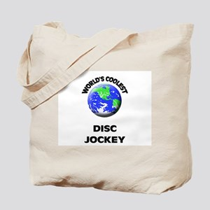 World's Coolest Disc Jockey Tote Bag