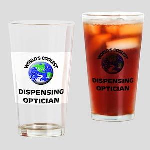 World's Coolest Dispensing Optician Drinking Glass