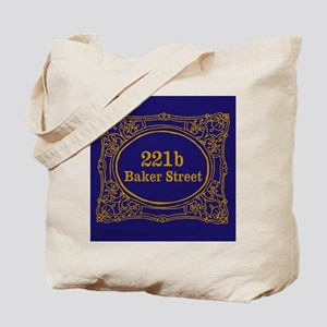 221b Baker St Tote Bag