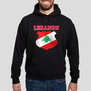 Lebanon Coat Of Arms Designs Hoodie (dark)