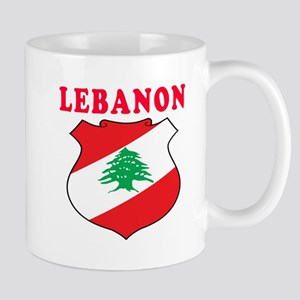Lebanon Coat Of Arms Designs Mug