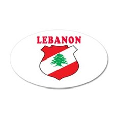 Lebanon Coat Of Arms Designs Wall Decal