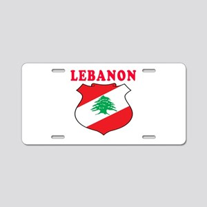 Lebanon Coat Of Arms Designs Aluminum License Plat