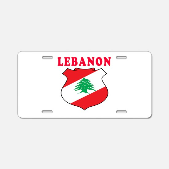 Lebanon Coat Of Arms Designs Aluminum License Plat