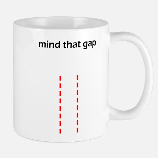Mind That Gap Small Mugs