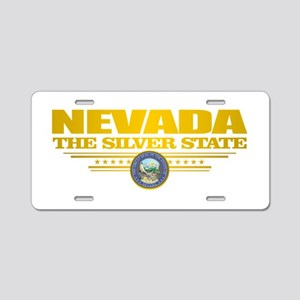 Nevada Pride Aluminum License Plate