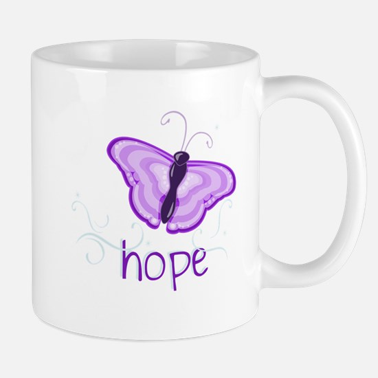 Hope Floats in Purple Mug