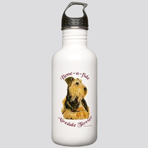 Airedale Boneafide 8x8 Water Bottle