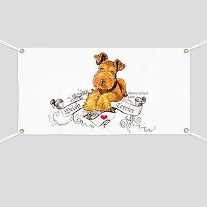 Welsh Terrier World Banner
