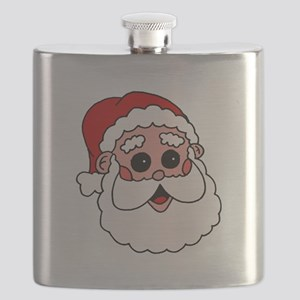 santa head flask