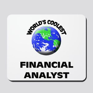 World's Coolest Financial Analyst Mousepad
