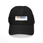 NO DEBRIS Black Cap