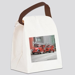 Bergen Fire Engines Canvas Lunch Bag