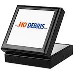 NO DEBRIS Keepsake Box