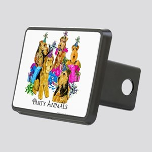 Welsh Terrier Party Rectangular Hitch Cover