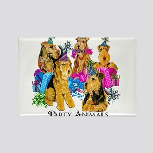 Welsh Terrier Party Rectangle Magnet