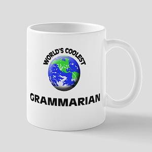 World's Coolest Grammarian Mug