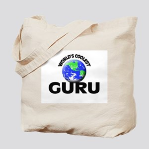 World's Coolest Guru Tote Bag