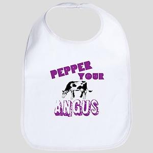 Pepper Your Angus Bib