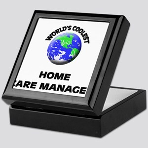 World's Coolest Home Care Manager Keepsake Box
