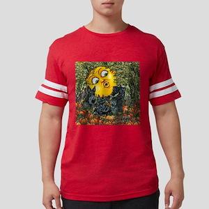 Scottie Halloween Moon Mens Football Shirt