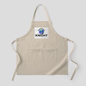 World's Coolest Knight Apron